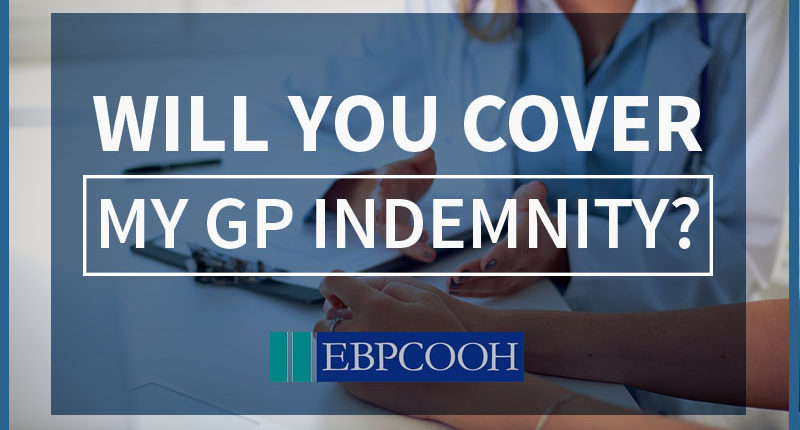 out of hours GP indemnity
