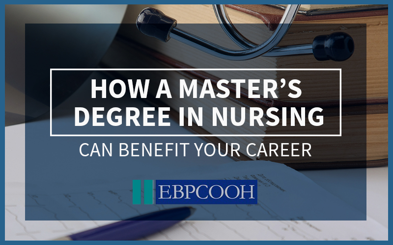 how to get a masters degree in nursing