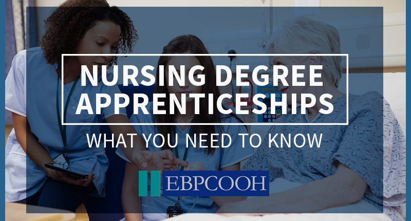 Nursing degree apprenticeship