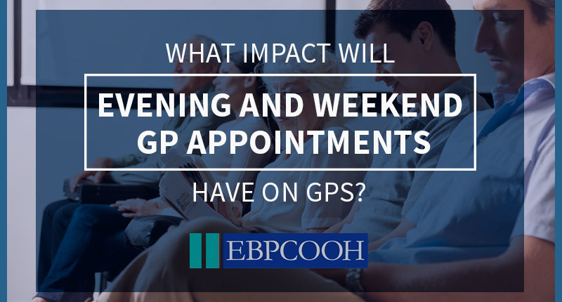 evening and weekend GP appointments